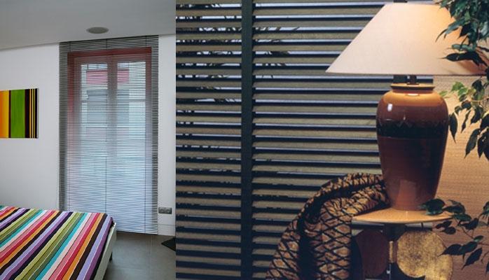 pose de stores d 39 int rieur fos sur mer. Black Bedroom Furniture Sets. Home Design Ideas